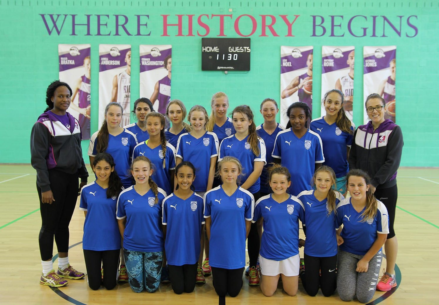Repton Dubai Complete UK Netball Development Tour